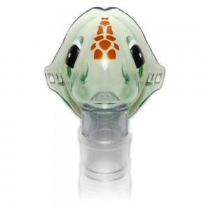 Маска за инхалация за деца 0-12 месеца с графичен дизайн  Костенурка