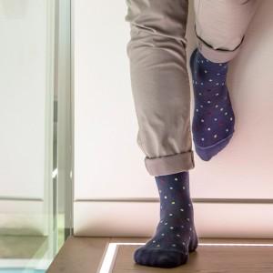 Компресивни чорапи унисекс до коляното Fancy Socks 810 Avio 18-22 mmHg
