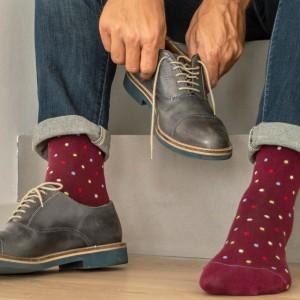 Компресивни чорапи унисекс до коляното Fancy Socks 810 Rubino 18-22 mmHg