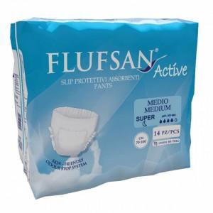 Еднократни пелени-гащи FLUFSAN SUPER (М) х 14