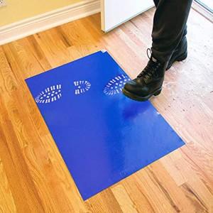 Антимикробни постелки за под 45 см х 115 см Х 30 листа (Опаковка от 4 постелки Х 30 листа)