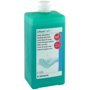 Течен сапун за ръце и тяло ЛИФОЗАН СОФТ / Lifosan-Soft 1000 ml