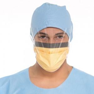 Маска хирургична Halyard Fluidshield*3  48237 с предпазен екран х 25 бр.