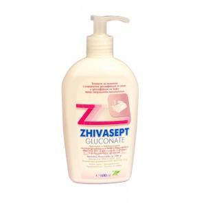 Живасепт глюконат дезинфектант за ръце и кожа 500 мл