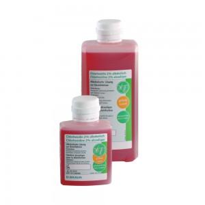 Хлорхексидин 2% в алкохолен разтвор 500 мл (оцветен)