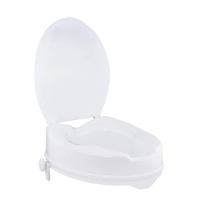 Надстройка за тоалетна чиния 10 см с капак