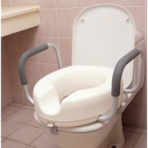 Надстройка за тоалетна чиния 15 см с подлакътници