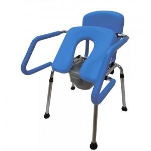 Стол за тоалетна и баня 4 в 1 с лифт технология