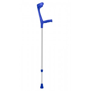 Патерица подлакътна тип канадка с ергономична омекотена ръкохватка 220KL син цвят