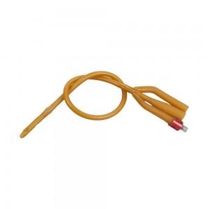 Уретрален катетър трипътен фолиев Foleycath® с балон 30-45 мл латекс
